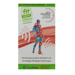FIT THERAPY PATCH UNIVERSAL 6 Parches* EUROETIKA