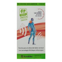 FIT THERAPY PATCH Dolor cervical 3 Parches *EUROETIKA