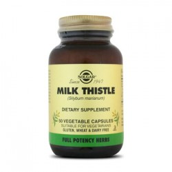 MILK THISTLE 50 CAPSULAS VEGETARIANS